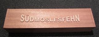 Holzblock Südmoslesfehn
